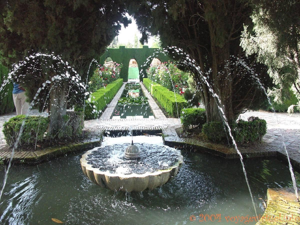 Jardines nuevos alhambra generalife granada espa a for Jardines de gomerez granada