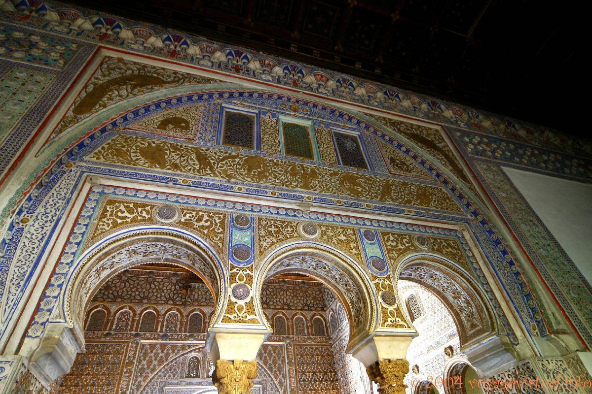 Arco triple del salon des ambassadeurs sevilla alc zar - Spa de sevilla ...