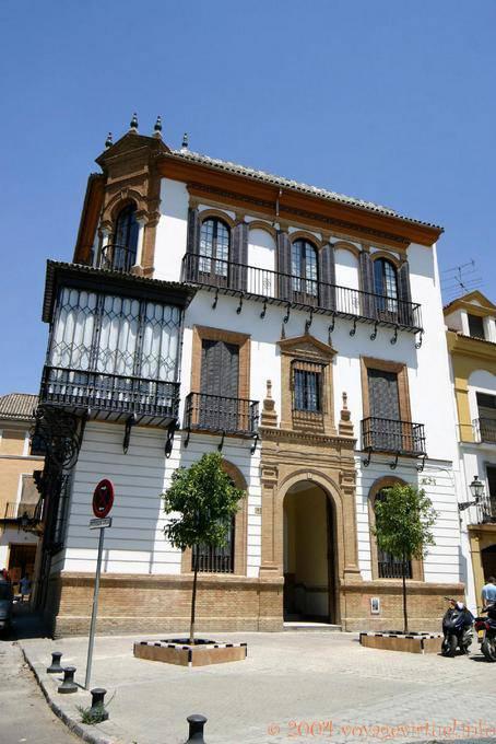 Arquitectura T Pica Balc N En Casa Sevilla Espa A