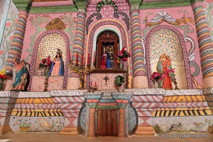 Decoracion Altar Iglesia ~   para verla en de gran tamano] Ruta Hualfin Iglesia Senora Del Rosario
