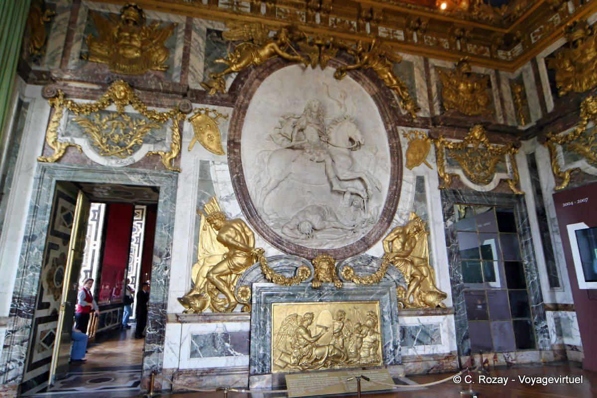 Sal n de guerra pared del este versalles for Salon de la photo