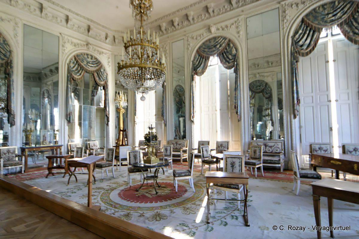 Sal n de los espejos apartamento de la emperatriz el for Salon de versailles