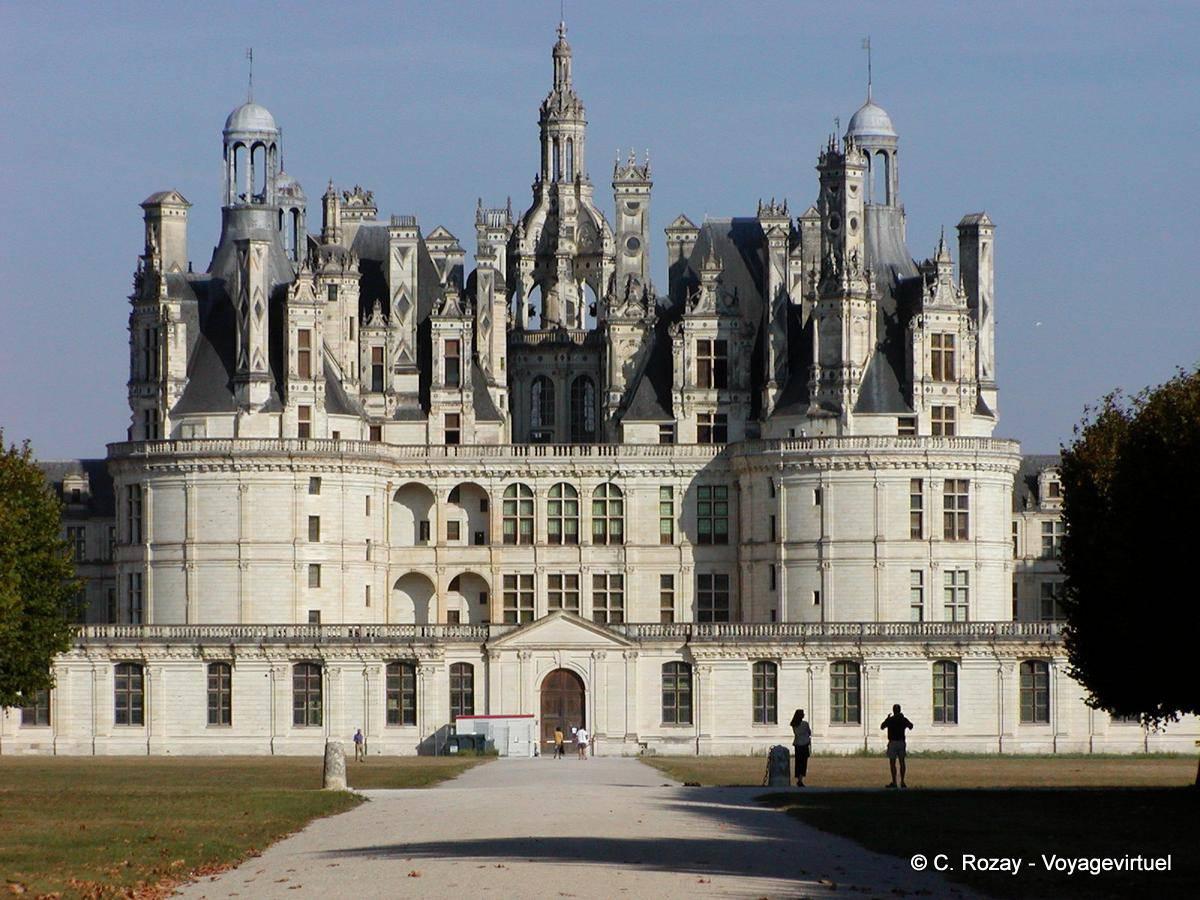 Castillo de chambord residencia del yate real - Castillo de chambord ...