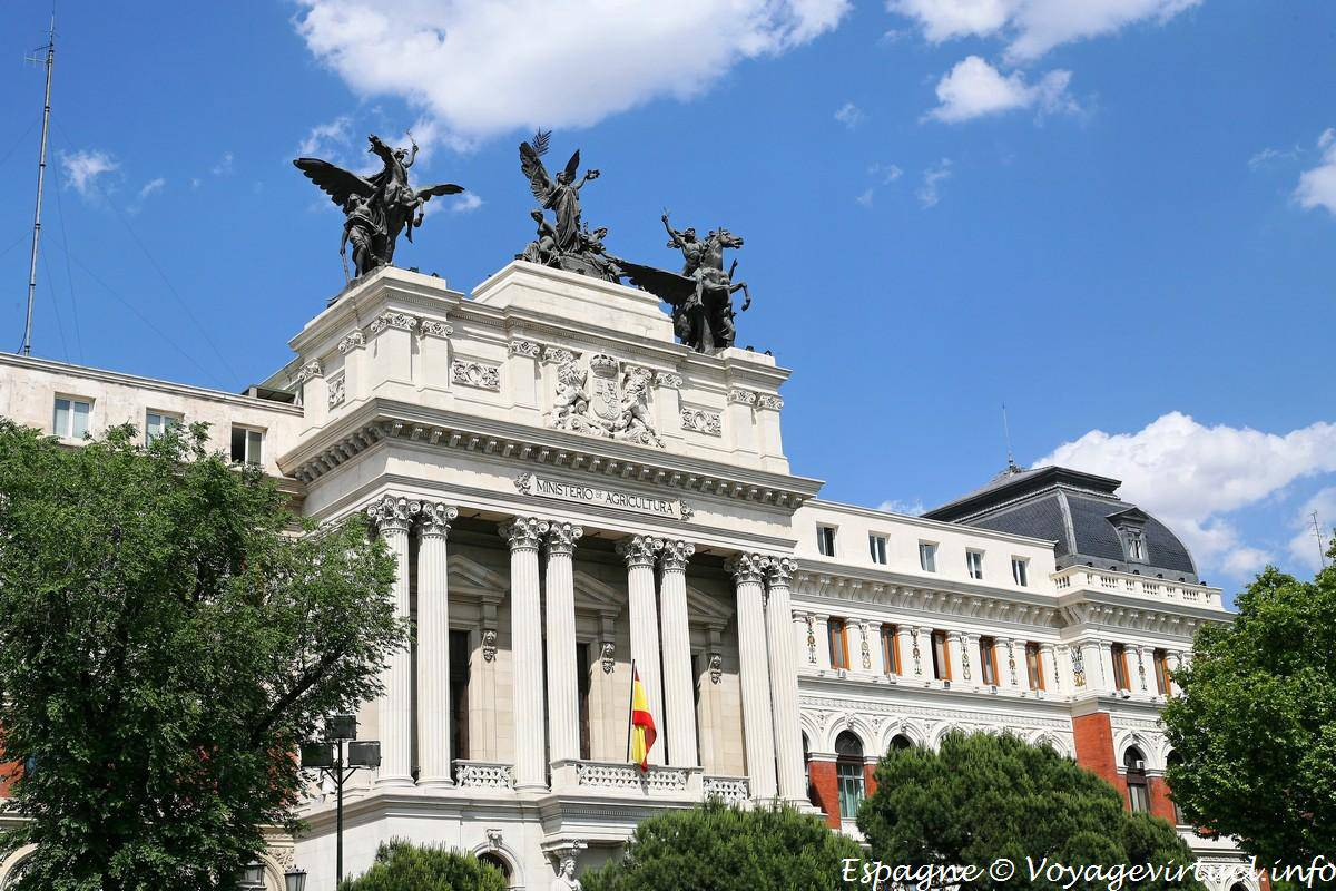 Madrid atocha ministerio agricultura espa a for Ministerio de seguridad espana