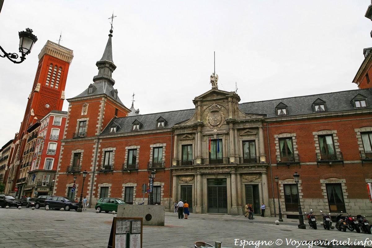 Ministerio de asuntos exteriores y cooperaci n plaza for Exteriores espana