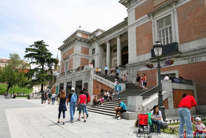 Introduzca el museo nacional del prado en madrid calle for Calle del prado 9 madrid espana