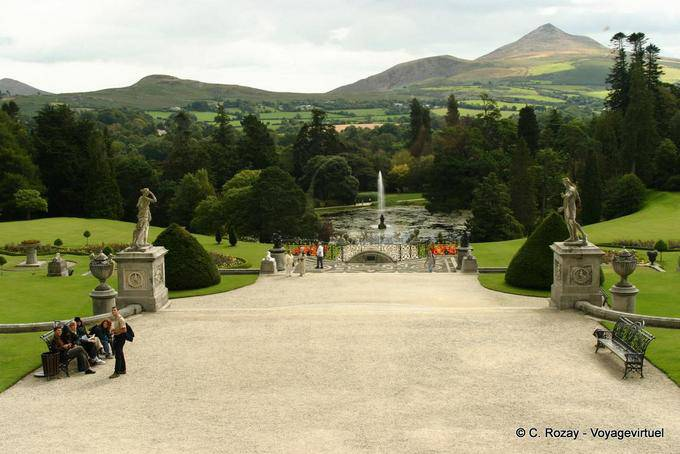 Jardin de Powerscourt, Irlande 5789