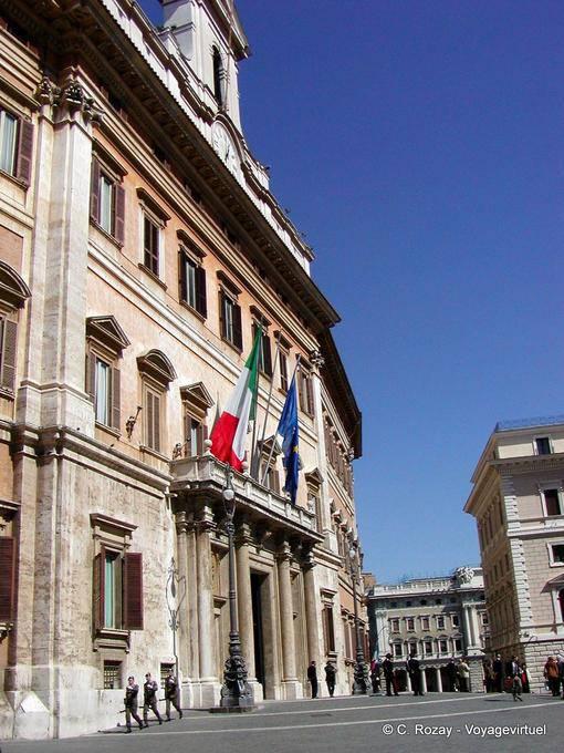 El parlamento roma italia for Roma parlamento