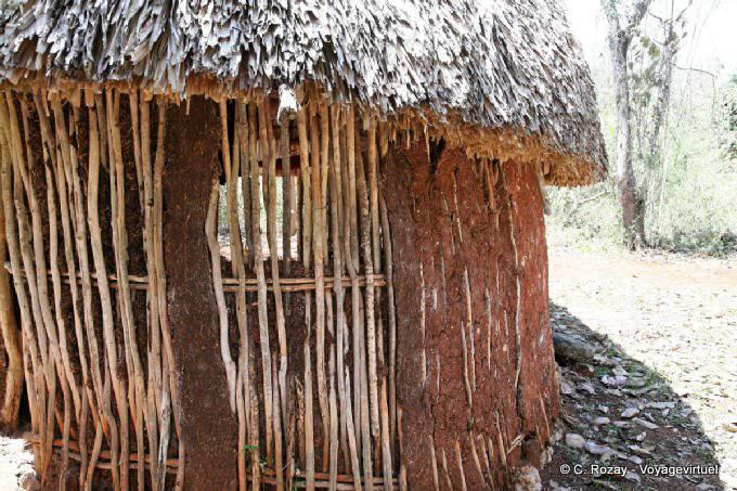 Labná, hutte traditionnelle