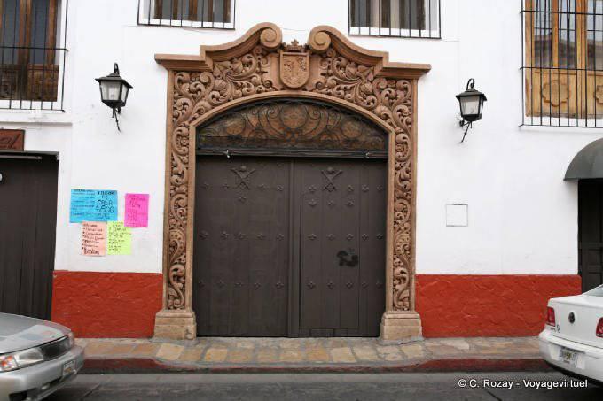 San Cristobal de las Casas, avenida Insurgentes 3