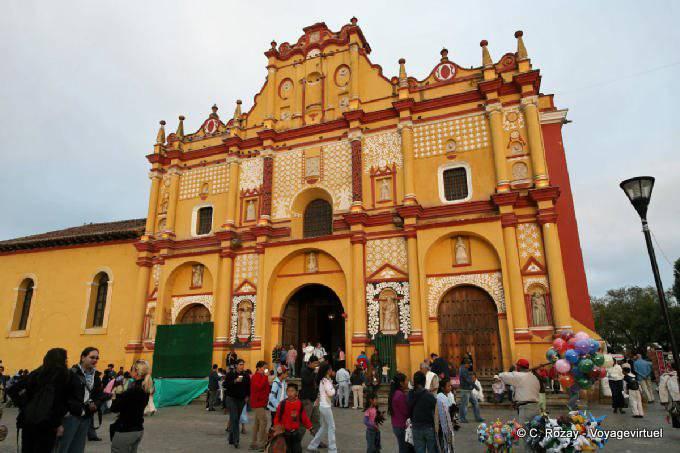 La cathédrale de San Cristóbal de las Casas 1