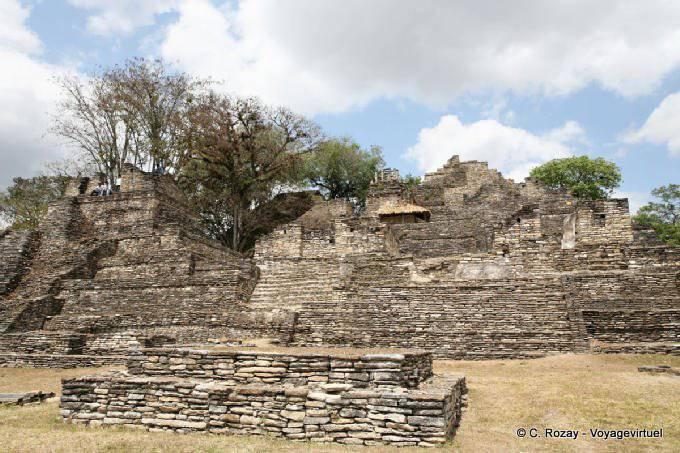 Toniná cité maya 34