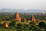 Panorama sur Bagan, Birmania