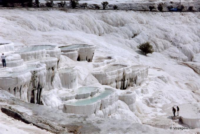 Pamukkale Thermal Pools, Turquía